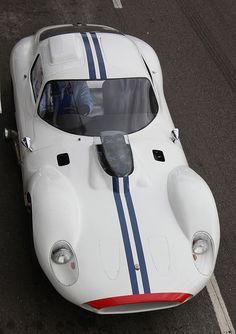 Chic And Elegant Beauty.. Thin Lines And Modest Details Maserati Tipo 151  Coupé Car
