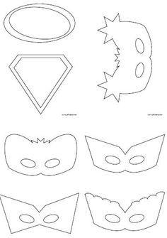 print maskers superheld - Google zoeken