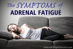 Adrenal Fatigue can cause symptoms like tiredness, an inability to handle stress, low blood sugar, a weakened immune system and cravings for salty foods.
