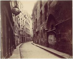 Eugène Atget, (French, 1857–1927). Hotel de Sens, rue de l'Hôtel de Ville, Paris. The Metropolitan Museum of Art, New York. The Rubel Collection, Gift of William Rubel, 1997 (1997.398.2) #paris