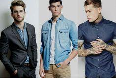 1.001 maneiras bacanas de usar a camisa jeans - Homem no Espelho