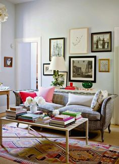The lovely Rita Konig's apartment…too chic.