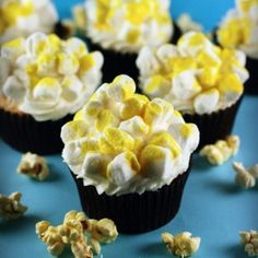 How to Make Easy Popcorn Cupcakes