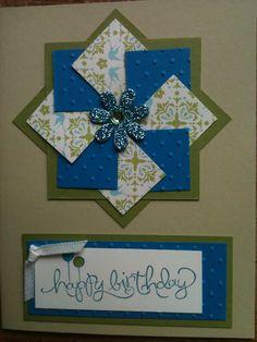 birthday pinwheel