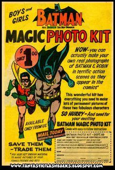 Batman photo kit