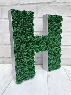 For the month of May we are swooning over the birthstone, Emerald! Here are 20 lovely Emerald Green Wedding Ideas we can't get enough of! Green Party Decorations, Sweet 16 Decorations, Quince Decorations, Candy Centerpieces, Wedding Reception Centerpieces, Quinceanera Centerpieces, Quinceanera Dresses, Emerald Green Weddings, Purple Wedding