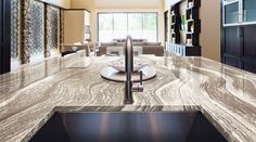 new_cambria_oak Furniture, Countertops, Home, Luxury, Cambria Countertops, Design Palette, Dining Table, Beautiful Homes, Contemporary Rug