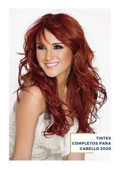 10 most beautiful red hair color ideas – beauty care me Red Hair With Bangs, Dark Red Hair, Long Red Hair, Burgundy Hair, Brown Hair, Thick Hair, Reddish Brown, Hair Bangs, Hair Color Highlights