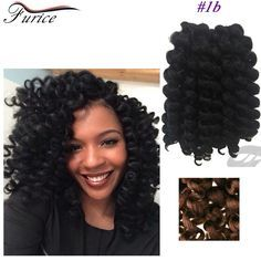 Best 8-10inch Crochet Extensions 75g/Pack Jumpy Wand Curl Braids Afro Kinky Twist Bounce Braid Hair Synthetic Crochet Wand Curl