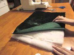 How to Sew a Victorian Fur Muff - YouTube https://www.youtube.com/watch?v=Qpxnb1bNX4Q