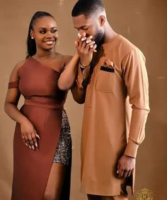 Couples African Outfits, Couple Outfits, Couple Photoshoot Poses, Couple Posing, Black Love Couples, Cute Couples, African Wear, African Dress, Black Families