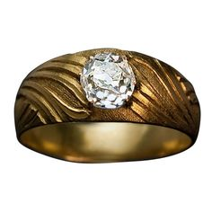 Buy Designer & Fashionable Simple Ring For Men. We have a wide range of traditional, modern and handmade Bands Mens Rings Online Mens Diamond Ring Designs, Mens Ring Designs, Gold Ring Designs, Diamond Solitaire Rings, Diamond Gemstone, Gents Gold Ring, Gold Ring Images, Mens Rings Online, Gold And Silver Rings