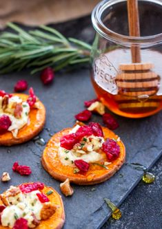 Holiday recipes to try this season: Cranberry, Pecan and Goat Cheese Sweet Potato Bites