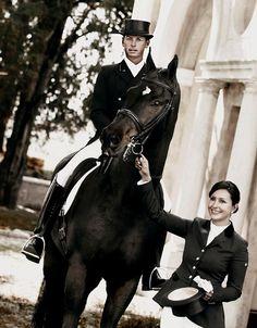Carl Hester & Rebecca Hughes for Kingsland Equestrian ~ Photo: Gunnar Merrild