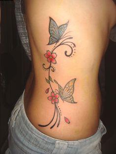 Tatuagens Femininas na Costela - http://fotosdetatuagensfemininas.com/tatuagens-femininas-na-costela/
