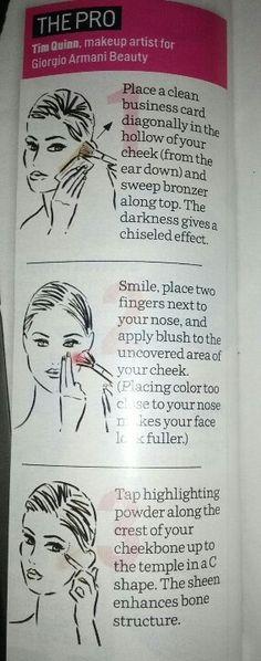 How to define your cheekbones