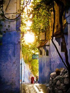 keepthesakina: Uma rua em Marrocos