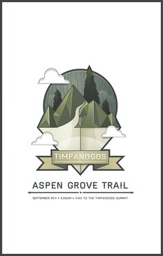 DesignersMX: Timpanogos Trail Poster by NckJrvs