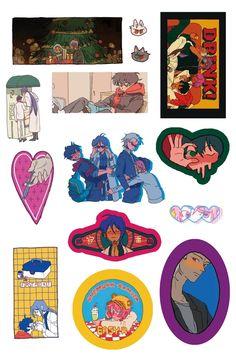 Pop Stickers, Anime Stickers, Art Folder, Journal Stickers, Aesthetic Stickers, Kawaii Art, Haikyuu Anime, Art Sketchbook, Aesthetic Art