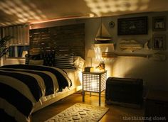 Night Lights! Grönö Table Lamps inside Hol Side Tables via thinkingcloset.com