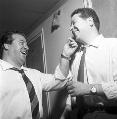 Giuseppe Taddei & Rolando Panerai at La Scala 1957 http://www.archiviolascala.org/