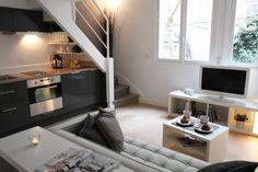 Small flat in Paris - Living