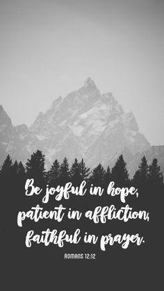 Romans 12:12 wallpaper
