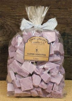 "Thompson's Candle Co Super Scented Crumbles/Wax Melts 32 oz ""Lilac"" for sale online Candle Wax, Soy Candles, Diy Wax Melts, New Business Ideas, Handmade Candles, Candle Making, Lilac, Gift Wrapping, Place Card Holders"