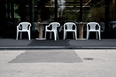 Monobloc chairs set in the right environment. Shot by Géraldine Recker Photography. Coffee Truck, Shop Truck, Environment, Chairs, Photography, Coffee, Photograph, Fotografie, Photo Shoot