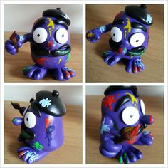 Art Monster dali polymer clay super sculpey liquitex fimo