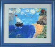Marg featured my Felted picture in her new treasury☼ Brrrr ~ I'm dreaming of a warm vacay ☼  by Marg on Etsy