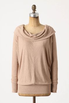 Comfy top for around house or running errands (that's also much more stylish than my high school hooded sweatshirt.)