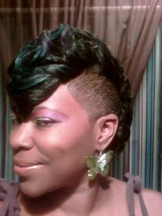 shaved mohawks for black women | Other Images in this Gallery