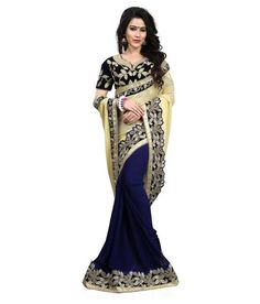 Shop now the latest sarees on ladyindia.com Designer Half & Half Style Georgette Sarees Embroidered Border Work Festival Sarees With Embroidered Blouse https://ladyindia.com/collections/festival-sarees/products/fs-18-designer-half-half-style-georgette-sarees-embroidered-border-work-festival-sarees-with-embroidered-blouse #sarees #festivalsaree #designersarees #embroideredsaree