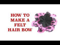 Making hair bows