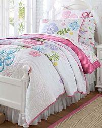Hibiscus Floral Bed Set