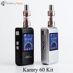 Box Mod Electronic Cigarette Vape Pen E Hookah Vaporizer 7-60W Kamry 60 Mod Vapor Storm EC 1 Tank E-Cigarettes E Smoke  X1060
