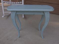French Provincial Style Side Table End Table by KJsTinCanTreasures, $40.00