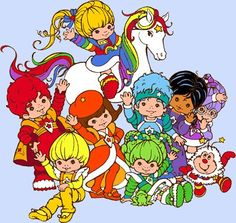 I had a Rainbow Brite, Starlight, Twink and green sprite. Always wanted a Lucky Brite doll.