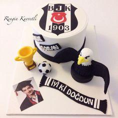 Beşiktaş Taraftar Pastası / Beşiktaş Cake