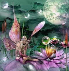 A thoughtful fairy,,,