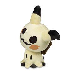 The official Mimikyu Pokémon Dolls Plush features cute proportions and a smiling face. A Pokémon Center Original.