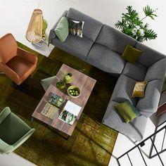 Opstelling Bert Plantagie banken. http://www.kantoorinrichters.nl/banken-en-fauteuils