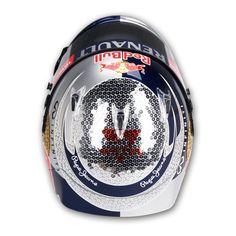 Arai GP-6 S.Vettel Monaco 2012 by Jens Munser Designs