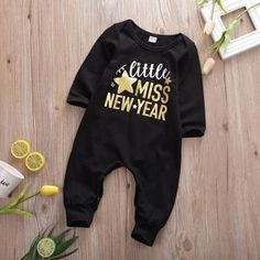 Made with Cotto and Polyester, this cute new year outfit is perfect for your cute little snowflakes. Little Snowflake, New Years Outfit, Happy Weekend, Be Perfect, Jumper, Overalls, This Or That Questions, Sleep Tight, Baby Outfits