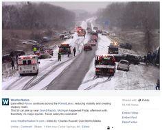 US 131 Crash - WeatherNation - 12/19/15