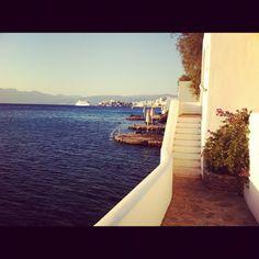 Photo by @mayur_baller at Minos Beach art hotel in Agios Nikolaos Crete #summer #holidays