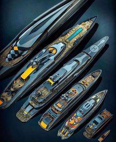 Super Yachts, Big Yachts, Yacht Design, Boat Design, Yachting Club, Bateau Yacht, Yatch Boat, Yacht World, Cool Boats