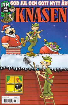 GCD :: Cover :: Knasen #26/2015 Christmas Comics, Cover, Creative, Blankets