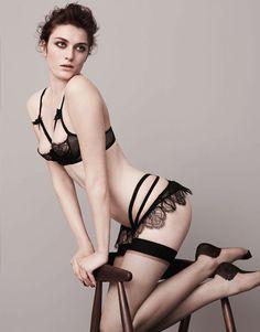 http://www.agentprovocateur.com/classics-collection/alina-set.html :::: Bra Size 36C :::: Alina Oubret Size 3